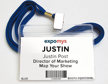 Map Your Show Essential Items Trade Show